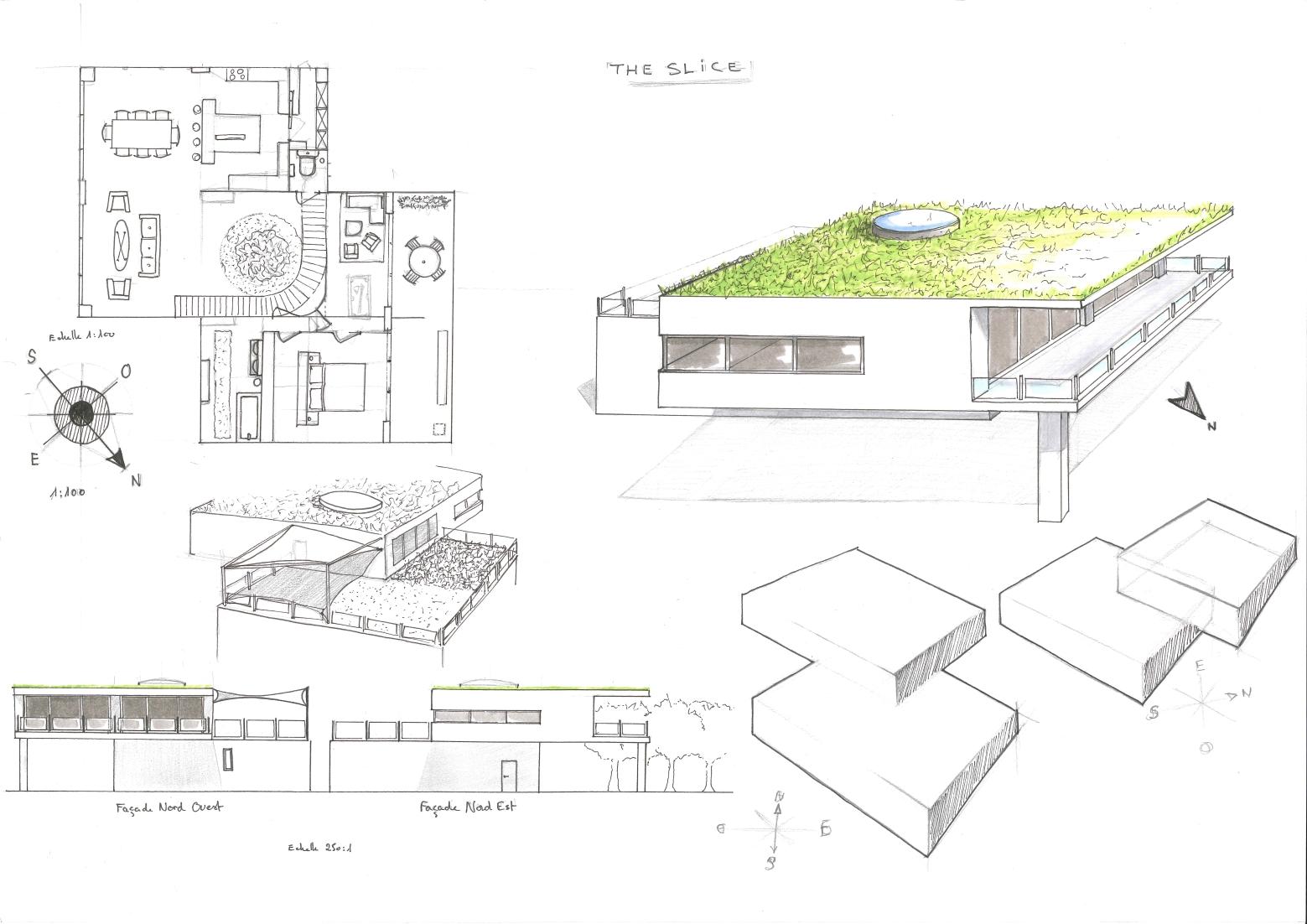 Planche Maison moderne