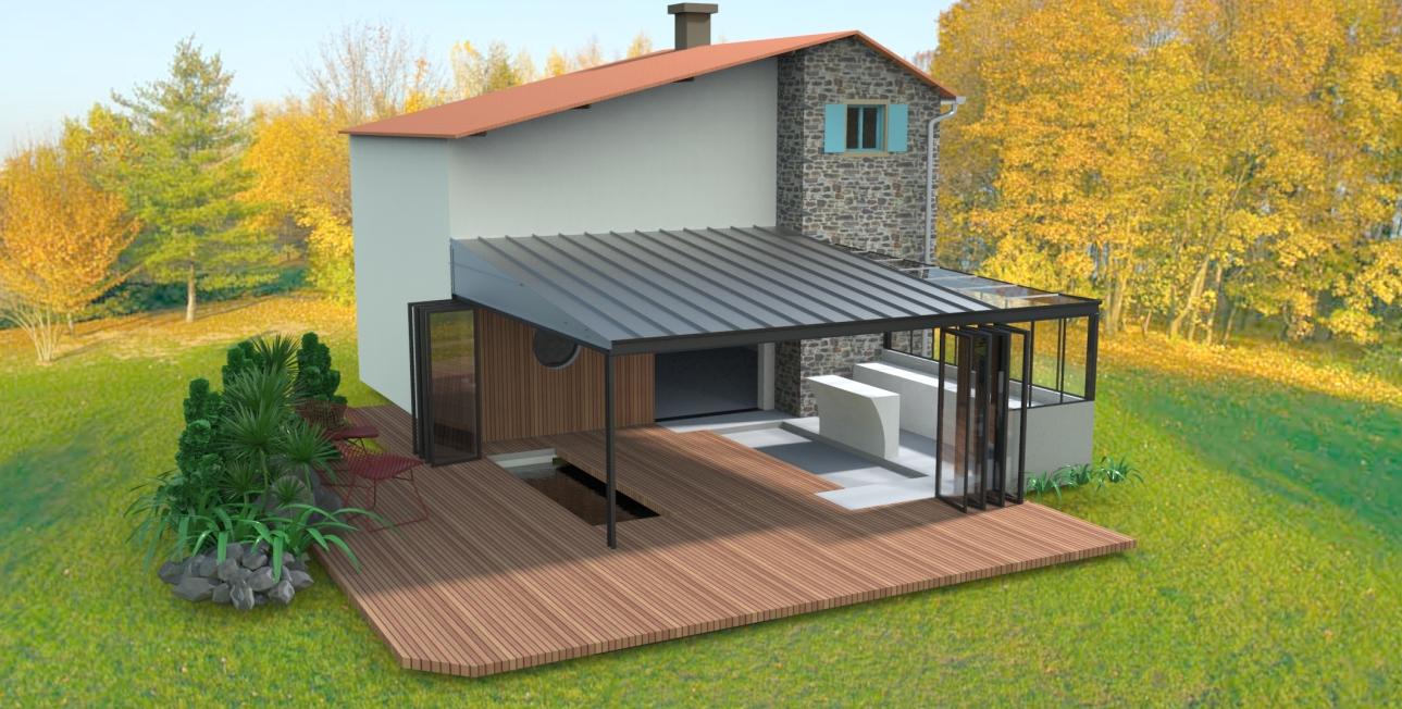 amenagement maison de campagne affordable maison la. Black Bedroom Furniture Sets. Home Design Ideas